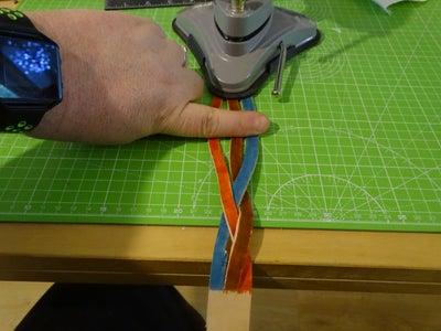 Braid Step 5 - Bottom Under the Left Hand Strap