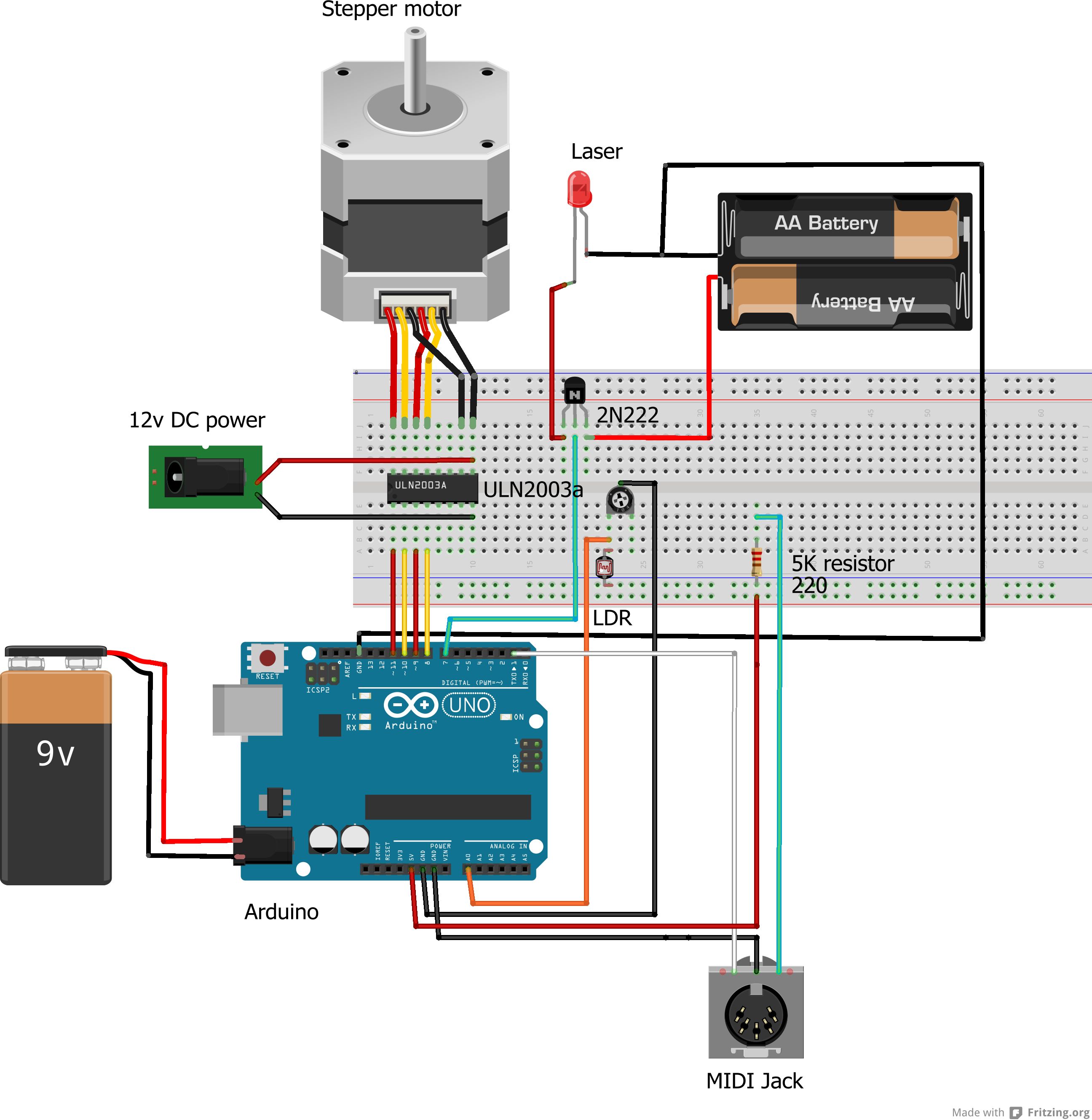 Picture of Wiring It All Together: