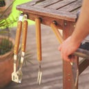 Make your BBQ Grill tools magnetic
