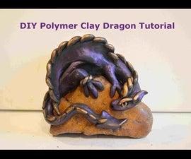 DIY Polymer Clay Dragon Tutorial