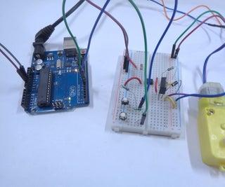 Electronic DC Motor Starter Using Microcontroller