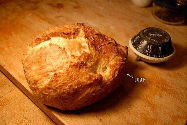 4-Hour No-Knead Bread.