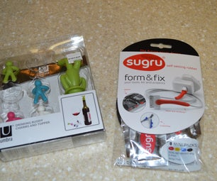 Sugru Surgery on Umbra Drinking Buddies and Topper