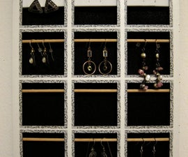 Hanging Earring Display