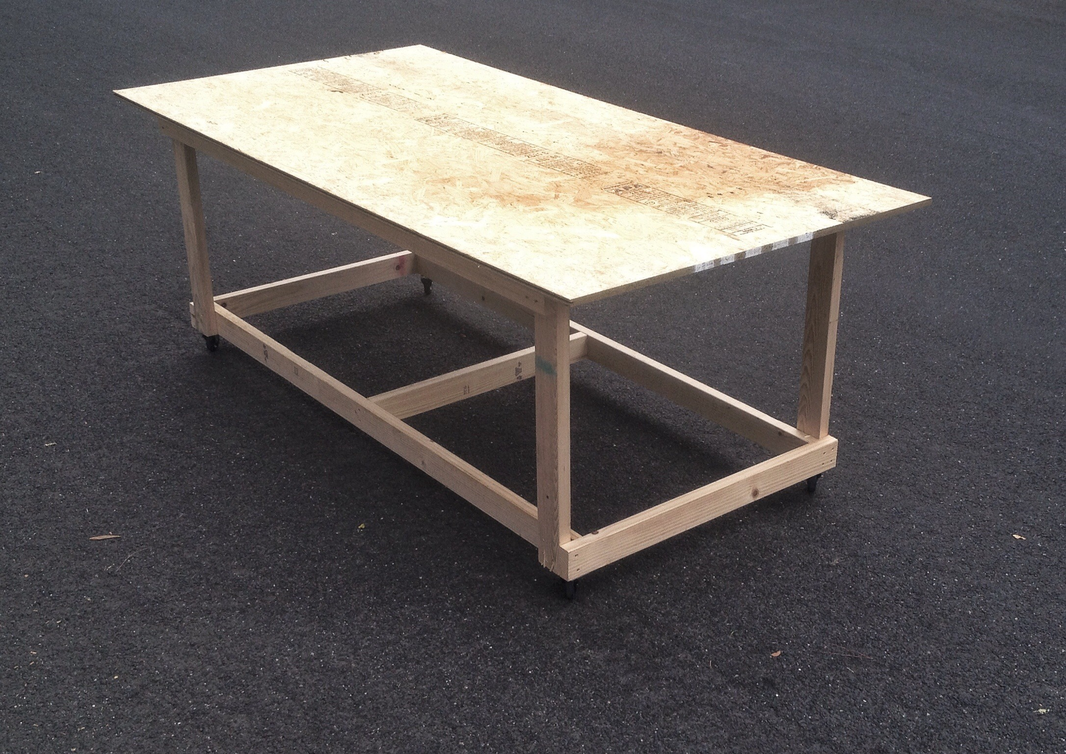 Picture of Work Table on Wheels | 4' X 8'