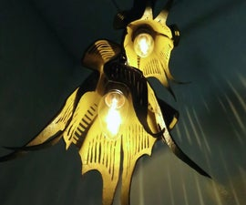 Make a Leather Lamp Shade