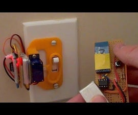 Remote Control Bluetooth Light Switch