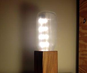 Milk Bottle Lamp