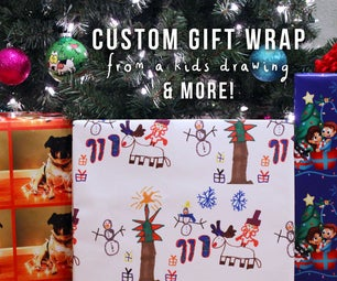 Creating Custom Gift Wrap
