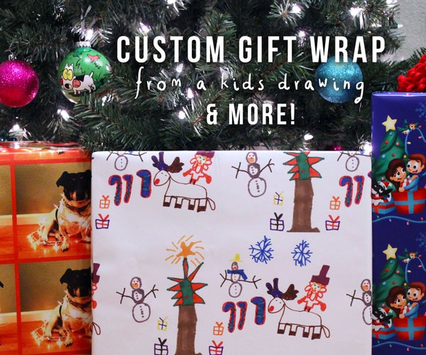 Creating Custom Gift Wrap