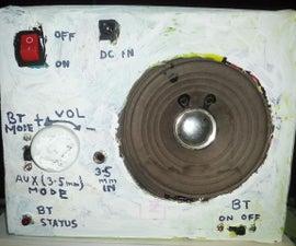 2in1 (BT+3.5mm[AUX]) Speaker System
