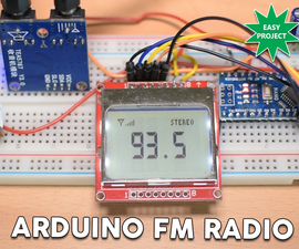 Arduino TEA5767 FM Radio Receiver