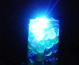 DIY Home Decor With Water Balls and LED