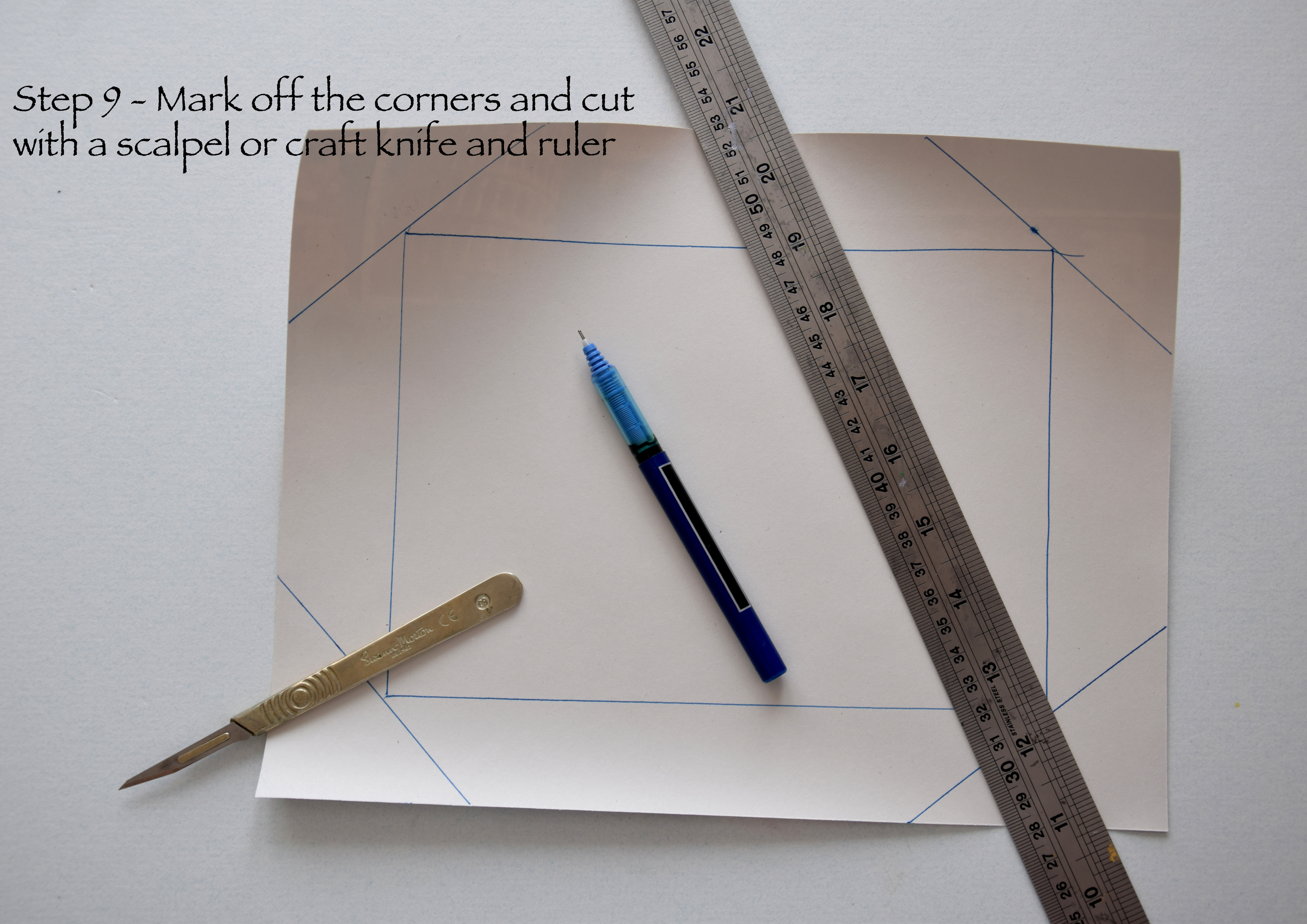 Picture of Mark the Corners and Cut