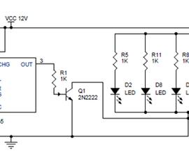 PWM Lamp Dimmer using NE555 Timer