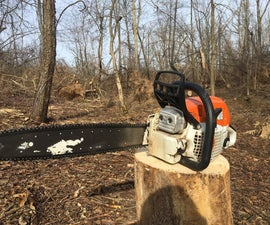 How to Sharpen a Chainsaw Chain
