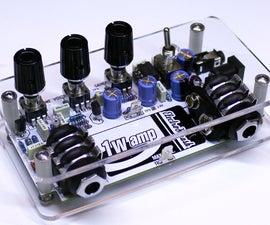 1Wamp  Guitar Amplifier  - Open Hardware