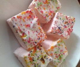 Delicious Marshmellow Pudding Squares
