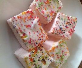 Delicious Marshmellow Pudding Squares