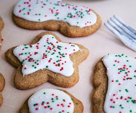 Christmas Cookies - Whole Wheat