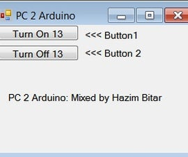 Using Visual Basic 2010 to Control Arduino Uno