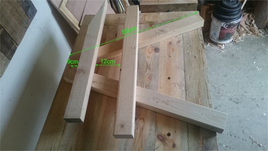 Measuring and Marking the Wood