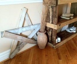 Wood Pallet Decorative Star