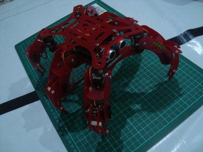The Other Robot Project Using Acrilyc Frame