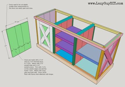 Assemble Cabinet Doors