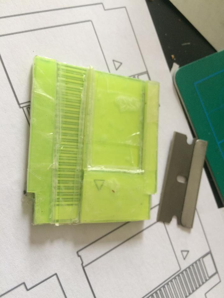 Picture of How to Make the Mini Cartridges.