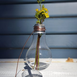 How to Make a Vase for a Single Flower