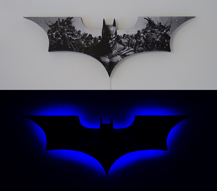 Picture of Yet Another Batman Lamp