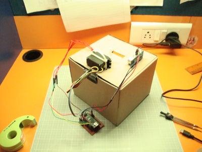 Connect the Ultrasonic Sensor