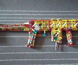 Linkin's Lightning Carbine (LLC) | a K'nex SMG