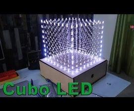 Cubo LED 9x9x9 Con Arduino