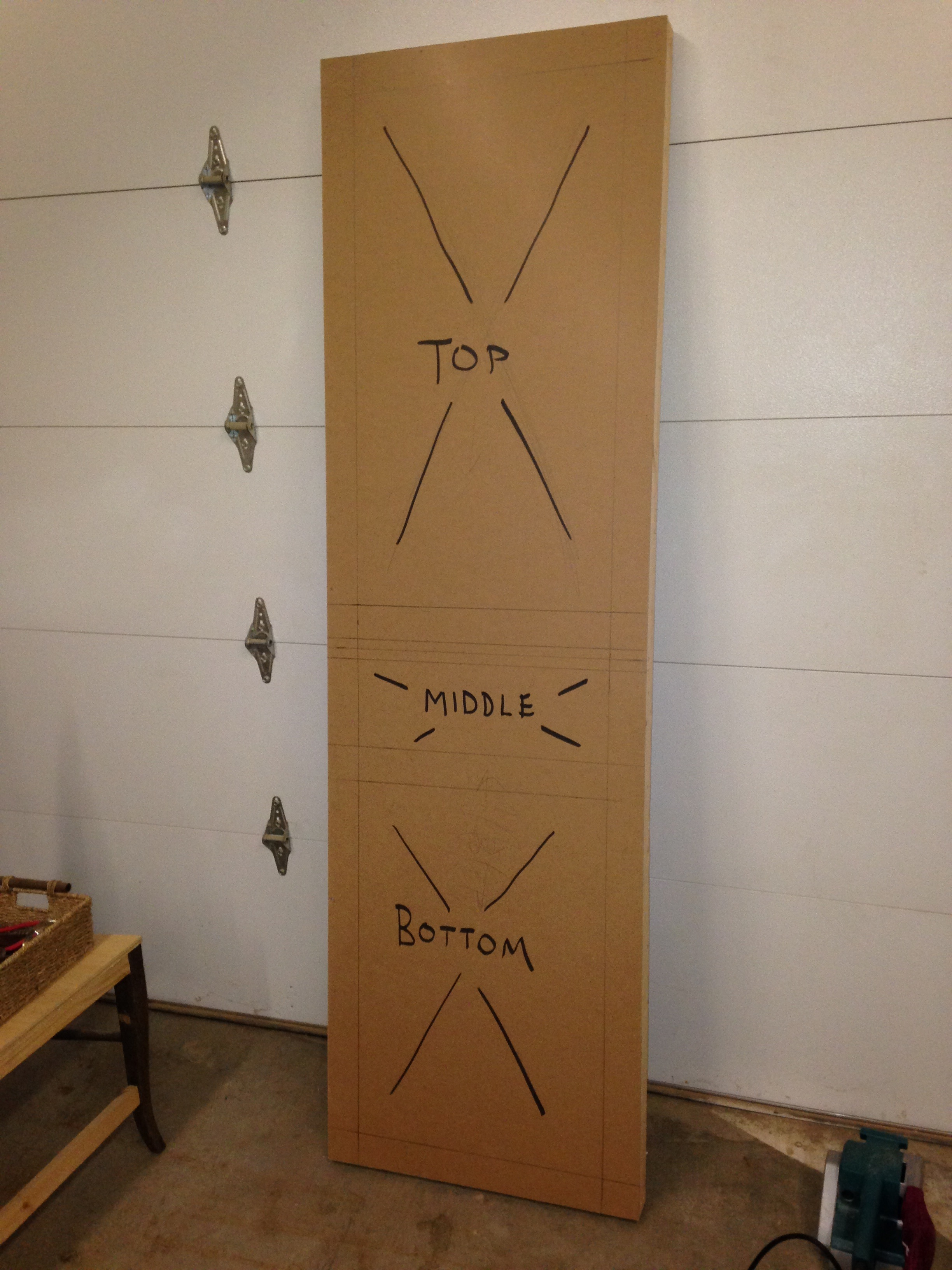 Picture of Door Assembly (skeleton)
