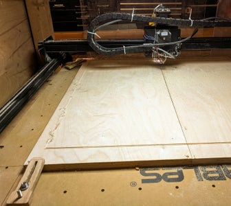 CNC Cutting the Patterns