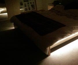 Under bed LED lights