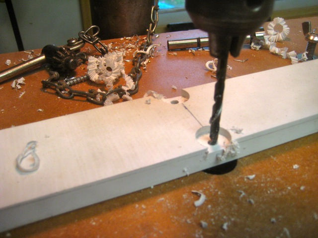 Picture of Preparing Forward Whisker Brace