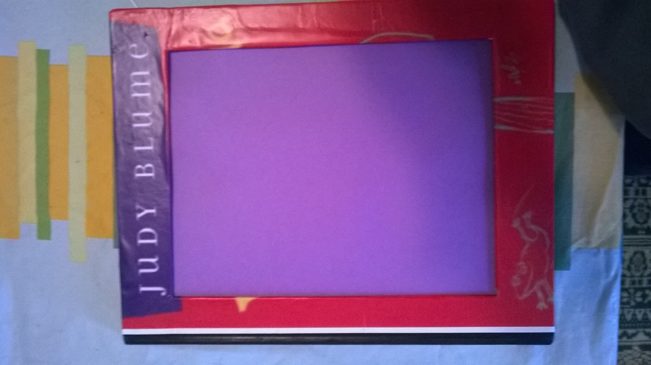 Picture of DIY Up-cycled Book Frame