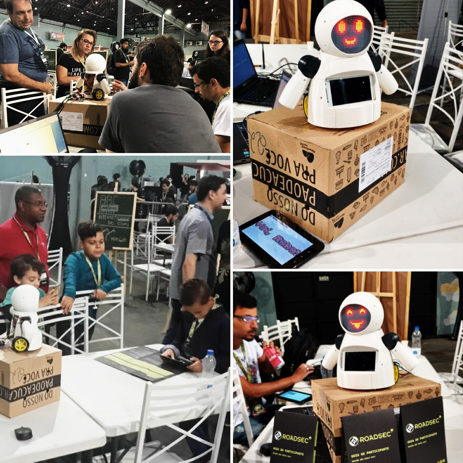 Picture of Joy Robot (Robô Da Alegria) - Open Source 3D Printed, Arduino Powered Robot!