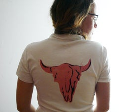 Awesome 2 stencils T shirts