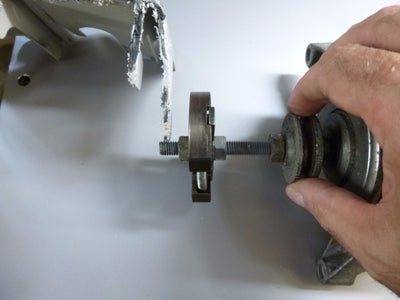 Make the Clutch Shaft - Version One - Fitting the Shaft