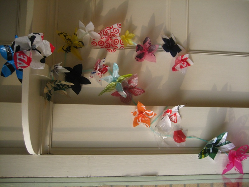 Picture of Wallflowers (Plastic Bag Hanging Flowers)