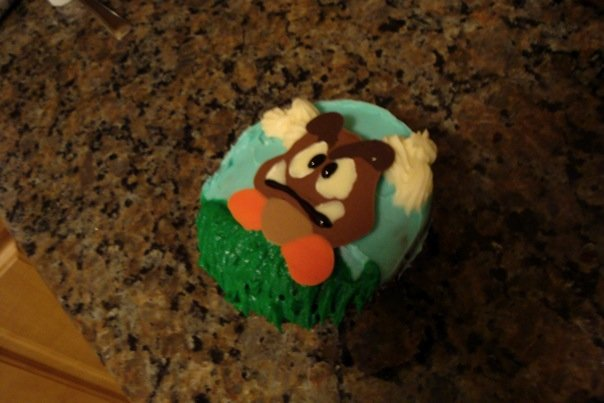 Picture of How to Make Chocolate Toppers for Your Cupcakes