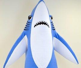 How To Make A Mascot Shark Costume