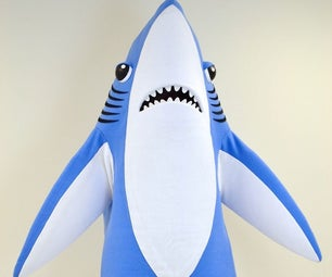 How to Make a Mascot Shark Costume