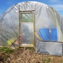 Cheap Solar Collector and Heat Storage for My Greenhouse