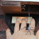 Dropping Spider on Doorbell - Halloween Scare Prank
