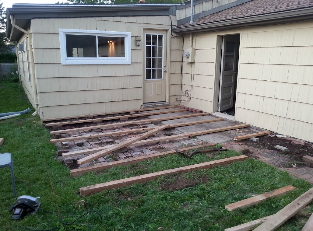 Picture of Step 3: Build (Joists) Day 1